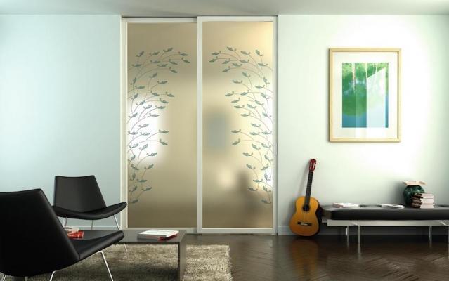 Porta da interni linea Flat F1 - Design e foto by Foa