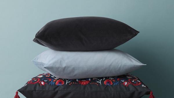 Fodere per cuscini in velluto - Design e foto by Ikea