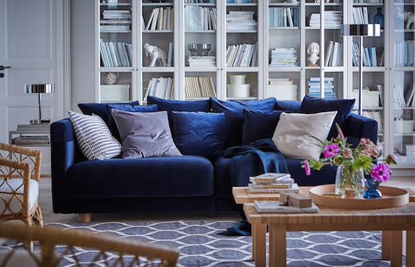 Divano a tre posti STOCKHOLM 2017 - Design e foto by Ikea