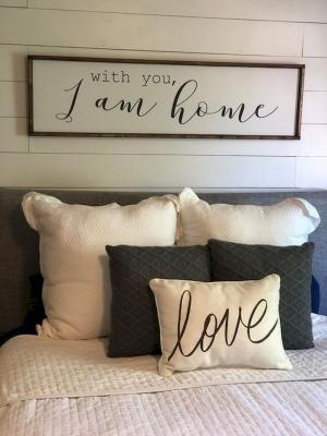 Il lettering in camera da letto, da ideaboz.com