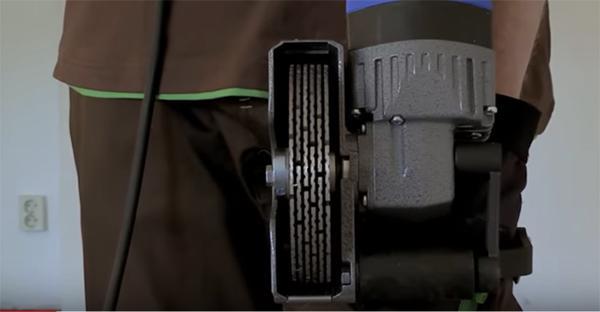 Scanalatore BDN 466-6 a sei dischi diamantati by BAIER Elektro-werkzeuge