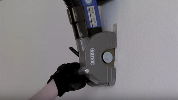Uso di una scanalatrice per fare tracce, by BAIER Elektro-werkzeuge