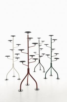 Portavasi di design a forma di albero, da Zanotta