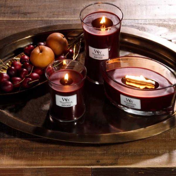 Candele WoodWick di Yankee Candle