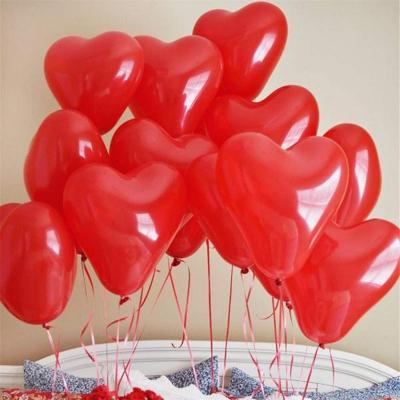 Palloncini a cuore per il giorno di San Valentino