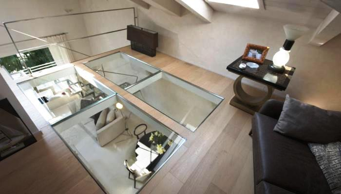 Pavimenti in vetro MP Glass