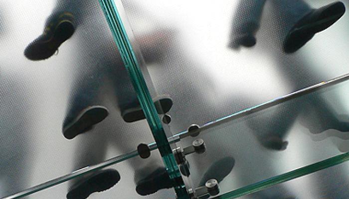 Vetro calpestabile satinato - MP Glass