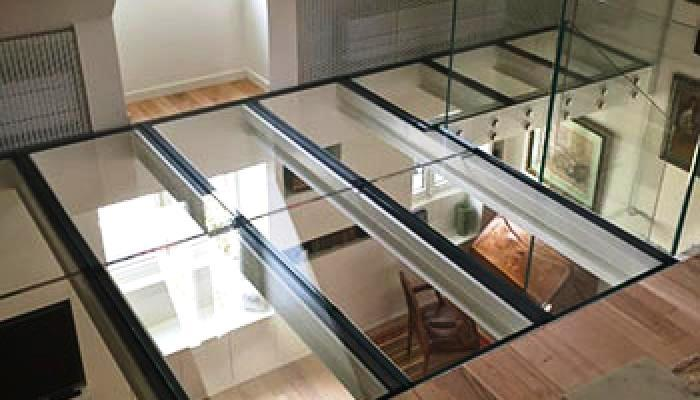 Vetro calpestabile da interno - MP Glass
