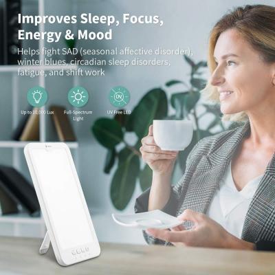 Lampada di HOSOME 10000 Lux SAD Lampada per terapia della luce portatile con alimentazione USB
