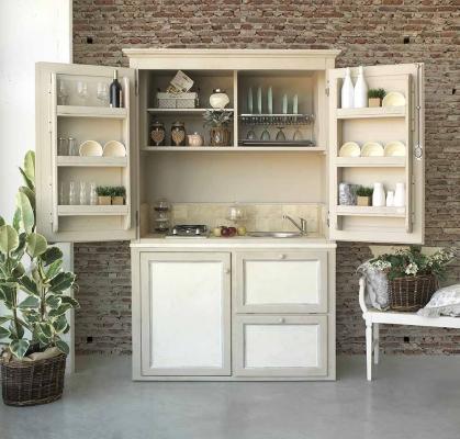 Cucina monoblocco - La Bottega del Falegname