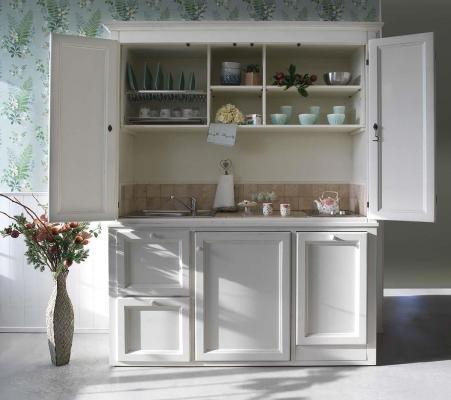 Cucina a scomparsa - La Bottega del Falegname