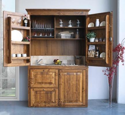 Cucina armadio - La Bottega del Falegname