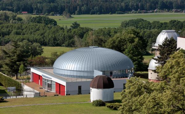 Digital planetarium ceca in Rheinzink