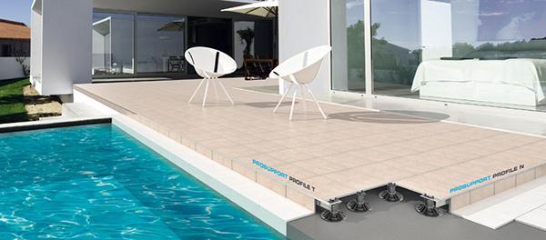 Struttura pavimento galleggiante Progress profile