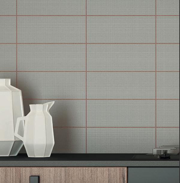 Fuga piastrelle colore mattone Ceramiche Vogue