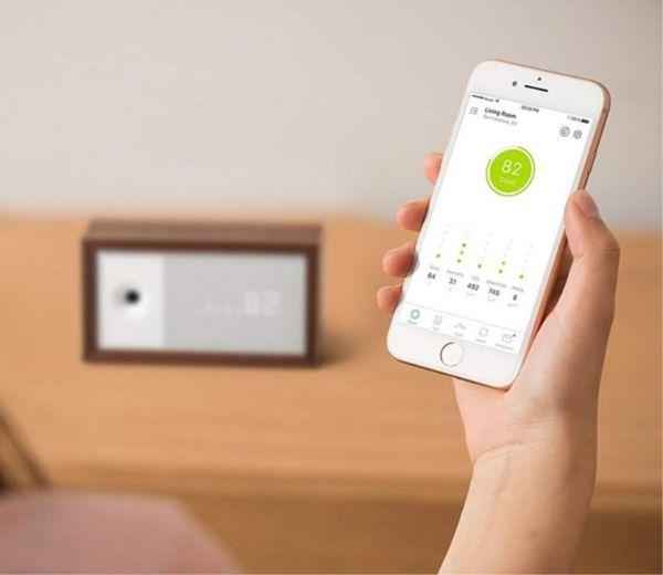 Controllo tramite app del misuratore aiwair