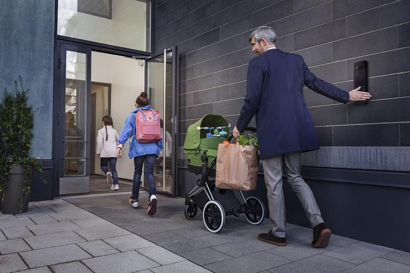 Automazione ingresso condominio - KONE Residential Flow