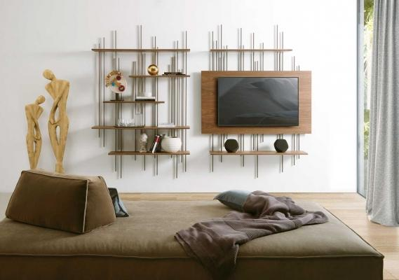 Mobile BAMBOU porta tv da parete di Italydreamdesign.com