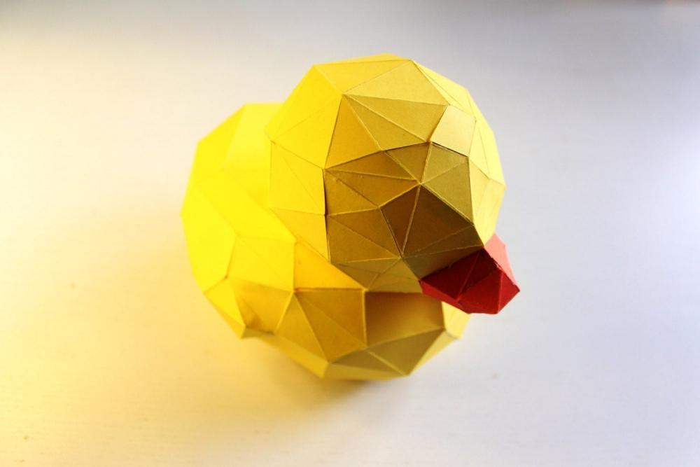 Anatra origami fai da te su Etsy