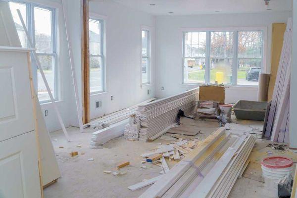 Casa in corso di ritrutturazione