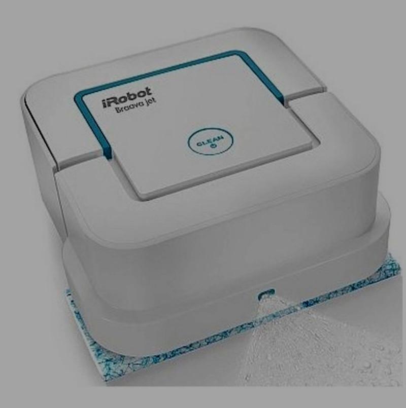 Robots per la pulizia Roomba con getto d'acqua nebulizzata