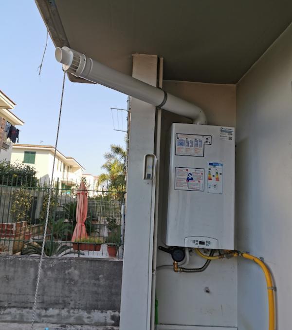 Caldaia a condensazione esterna