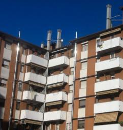 Collegamento condotti di scarico condominiali in acciaio