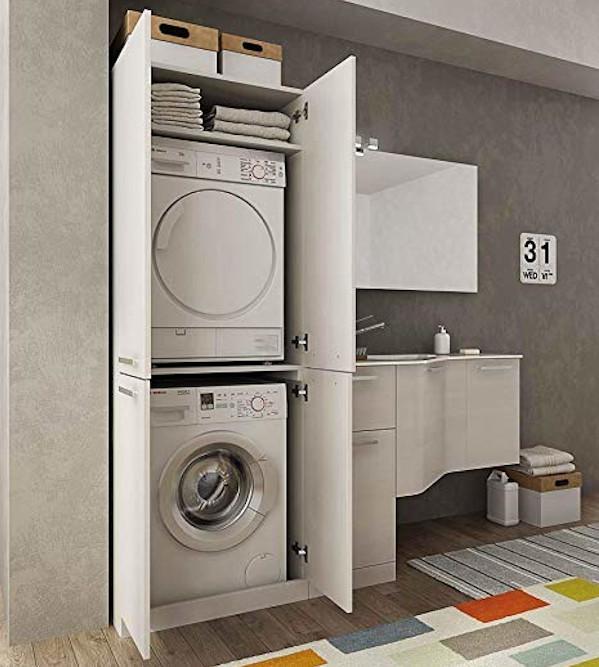 Orientamento installazione asciugatrice