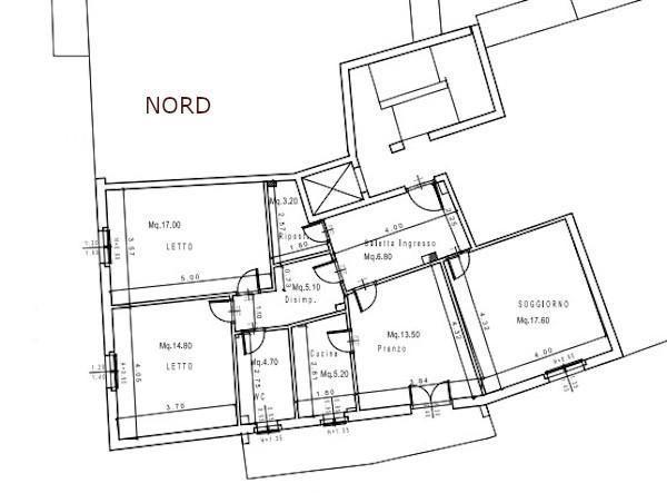 Orientamento esame degli spazi interni