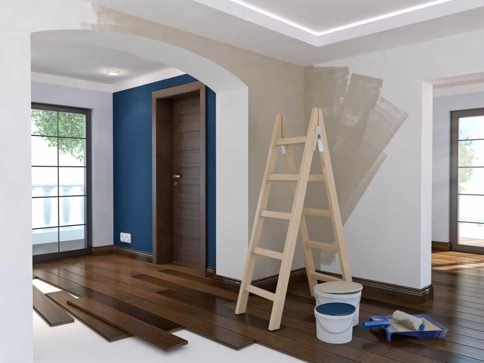 Tinteggiare le pareti interne di casa