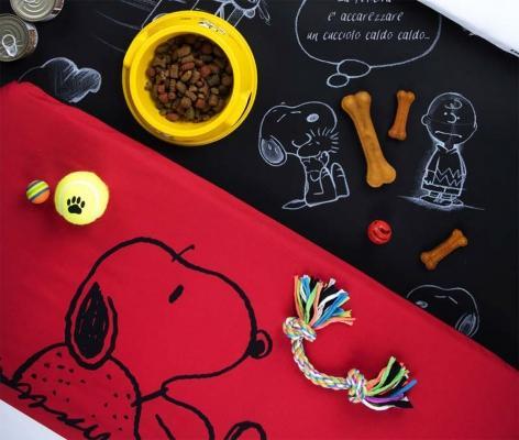 Cuscino per animali con snoopy dei peanuts, by excelsa