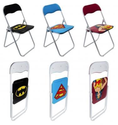 Sedie pieghevoli con supereroi di Excelsa