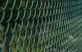Tipica rete metallica plastificata per recinzioni