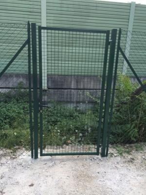 Cancello pedonale per recinzioni di rete metallica, by Reti Rusconi