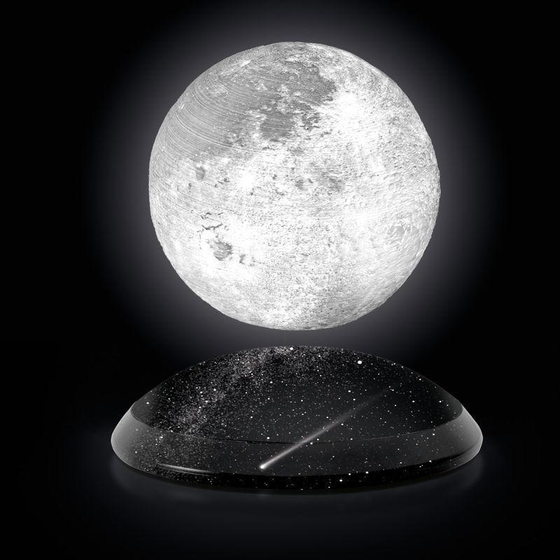 Complemento d'arredo con Luna levitante, by La Città del Sole