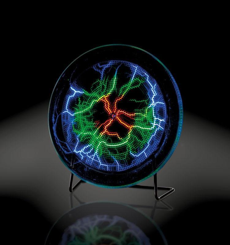 Complemento d'arredo con disco al plasma de La Città del Sole
