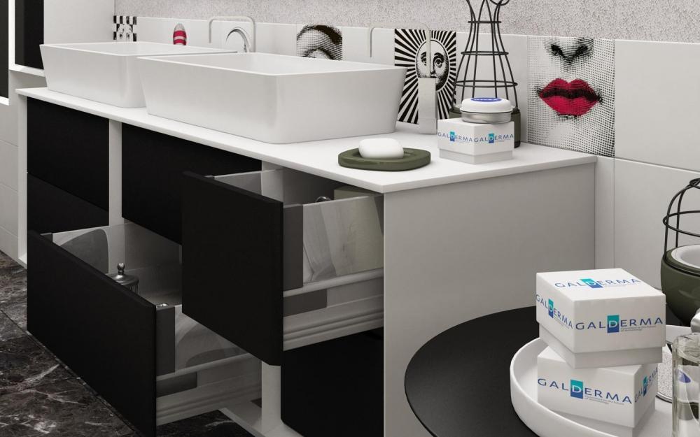 Mobile doppio lavabo Best di Bagnoitalia.it