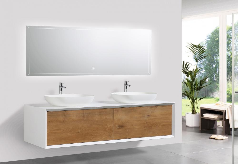 Due lavandini su mobile bagno Fiona di Bernstein