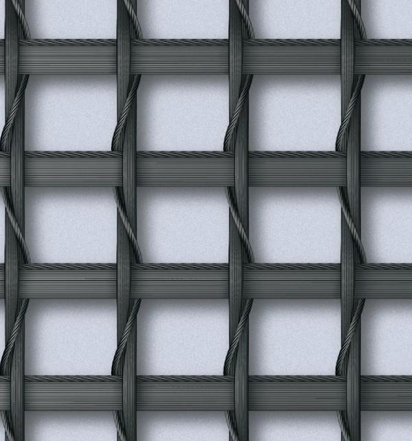Particolare struttura tessuto schermante