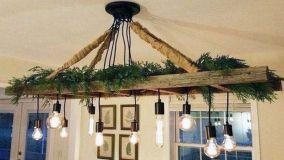 Scala a pioli in legno, idee per ogni stanza della casa