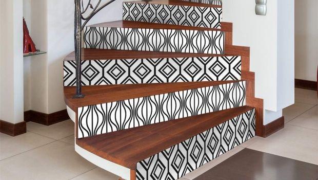 Come cambiare look alla scala decorando i gradini