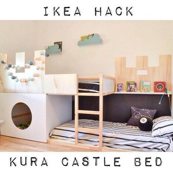 Ikea- Kurabed, redesign by ikea hackers