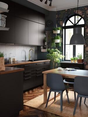 Ikea, Cucina Kungsbacka, con sportelli in PET