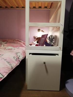 Cassetto, Rialzo letto Kura, Ikea, by Miras Project Studio