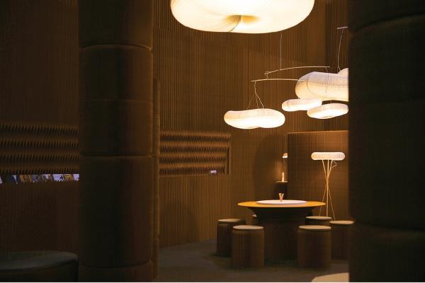Exhibition-stand, by molo design