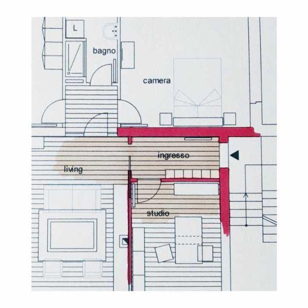 Ingresso chiuso - Progetto by Caterina Scamardella Architetto