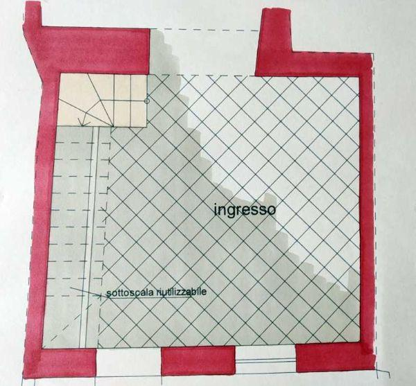 Ingresso con scala - Progetto by Caterina Scamardella Architetto