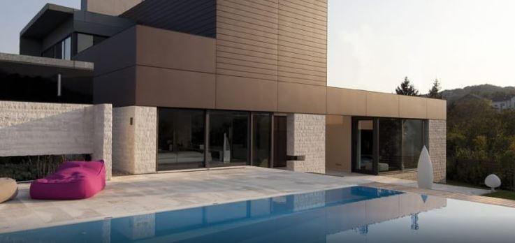 Le pitture silossaniche sono molto impiegate per edifici contemporanei