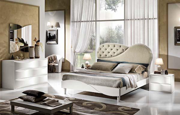 Camera da letto Primarosa Bianco Frassino - Design e foto by Mobilpiù