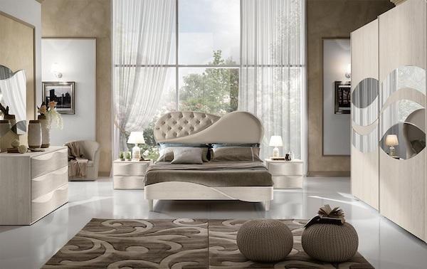 Camera da letto Primarosa Diamond - Design e foto by MobilPiù